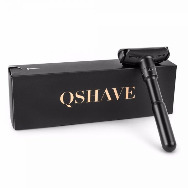 Qshave - The Real Man borotva - fekete 1